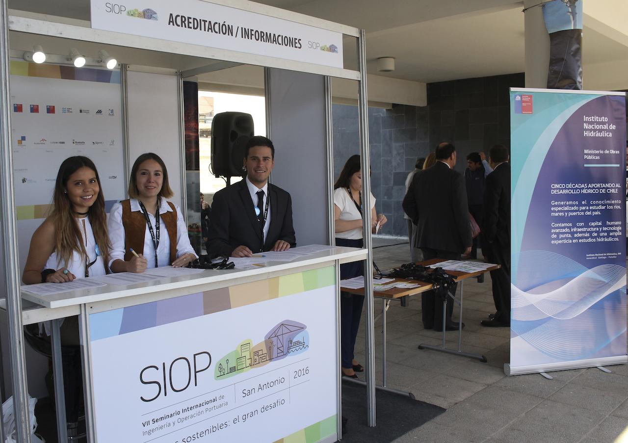 Counter de Acreditación SIOP 2016.